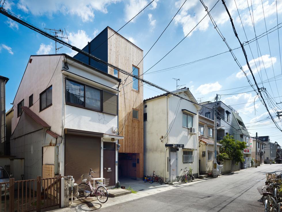 変形地の住宅