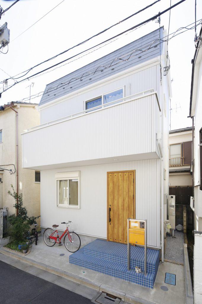 約12坪の敷地でこだわりと開放感あふれる空間のある家